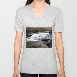 River Spodden falls Unisex V-Neck