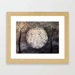 Night I Framed Art Print