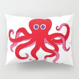 Octopus (Red) Pillow Sham