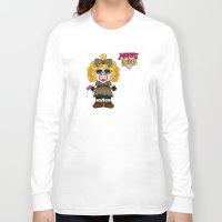 river song Long Sleeve T-shirts featuring Miss Piggy Song - Moffat Babies by Murphis the Scurpix