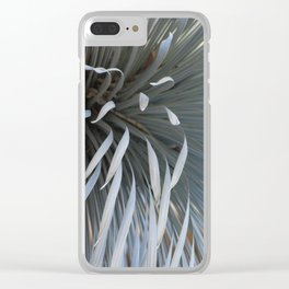 Growing grays Clear iPhone Case