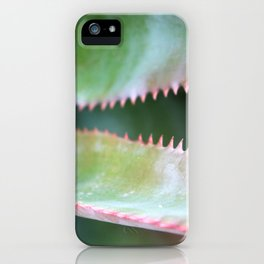 Pink Teeth iPhone Case