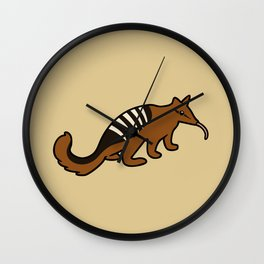 Cute Numbat Wall Clock