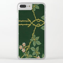 Art work of William Morris Clear iPhone Case