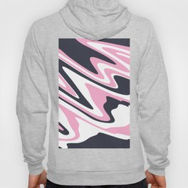 Hot pink, white & purple marble Hoody