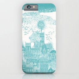 Earth Celestial City iPhone Case