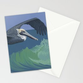 Brown Pelican Stationery Cards