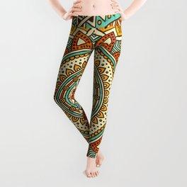 Hippie Mandala 10 Leggings