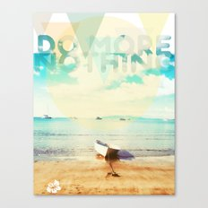 Do More Nothing Canvas Print