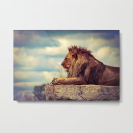 King of the Jungle Metal Print