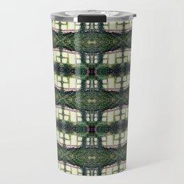 Pattern 56 - Windows and wall vines Travel Mug