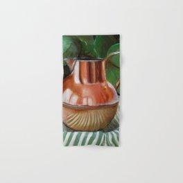 Copper Antique Pitcher Philodendron Hand & Bath Towel
