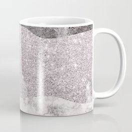 Stone Textures in Shades of Pink  Coffee Mug