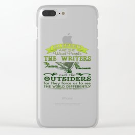 Writers, Artists, Dreamers Clear iPhone Case