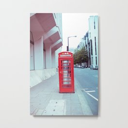 London Telephone Booth  Metal Print