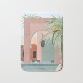 Moroccan Pool Bath Mat