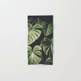 Monstera - Tropical Forest - nature photography Hand & Bath Towel