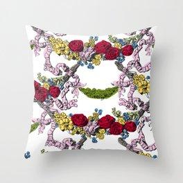 Corinthian Grapes 2 Throw Pillow
