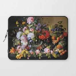 Vintage Varnish- Flowers&Fruit Laptop Sleeve