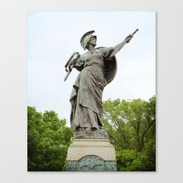 The Spirit of the Empire Canvas Print