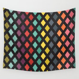 Vintage rombs Wall Tapestry