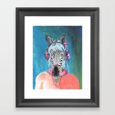 I Can't Hear You Framed Art Print