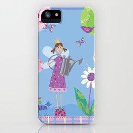 Fairy in the Garden iPhone Case