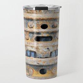 Rusty excavator caterpillar Travel Mug