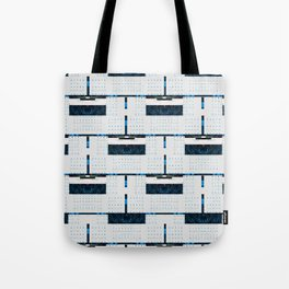 Social Media Comp with Example Components Tote Bag