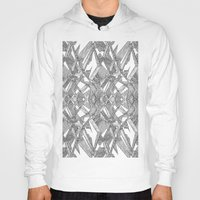 blueprint Hoodies featuring Blueprint - monochrome by Etch by Design