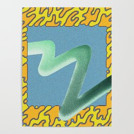 wave particle bounce Poster