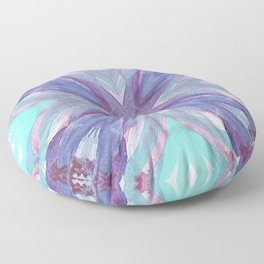 Watercolor Abstract Floor Pillow