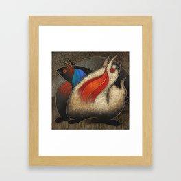Fantasia andina 2 Framed Art Print