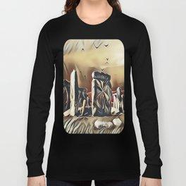 The Equinox at Stonehenge Long Sleeve T-shirt