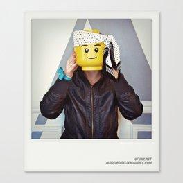Minifig me ! – Everyone has a LEGO piece inside - 7 Canvas Print