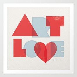 Art Love Art Print