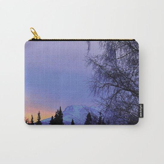 Chugach Mts Serenity Sunrise - I Carry-All Pouch