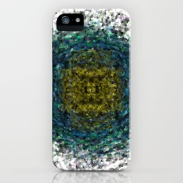 Geode Abstract 01 iPhone Case