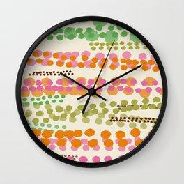 Champagne And Caviar Wall Clock