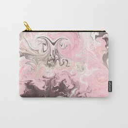 Modern pastel colors abstract watercolor marble Carry-All Pouch