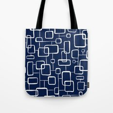 On The Quad - Navy Blue Tote Bag