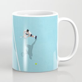 Tennis Court Colors  Coffee Mug