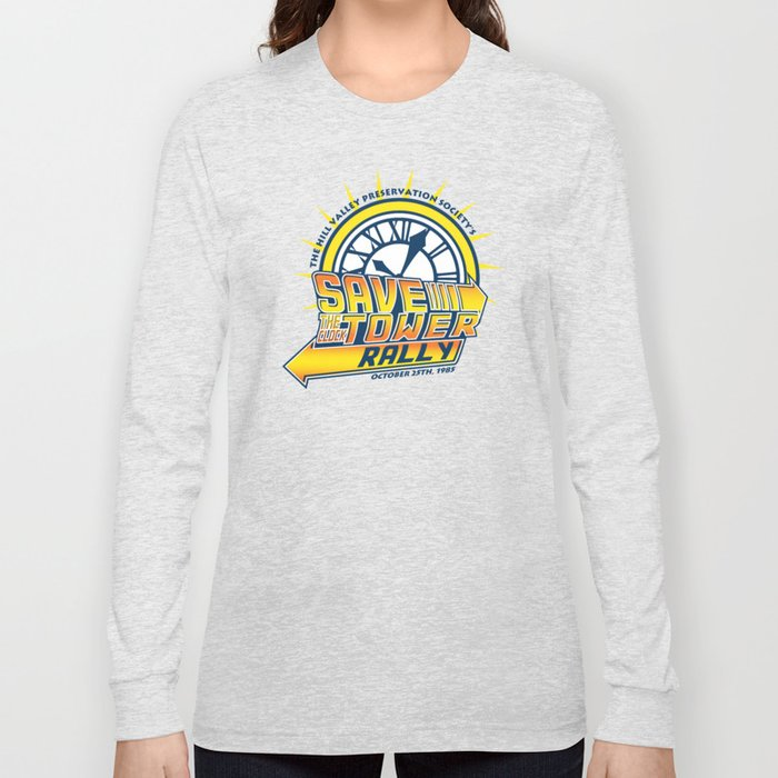 d4299ad4 Save The Clocktower Long Sleeve T-shirt by dgngraphix | Society6
