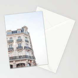 Parisian Building Paris France Photo Art Print | Europe Street Architecture Travel Photography Stationery Cards