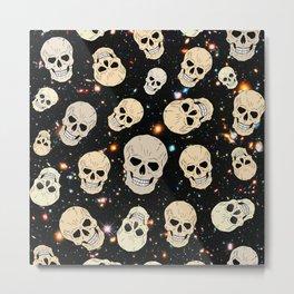 Skulls. In. Space. Metal Print