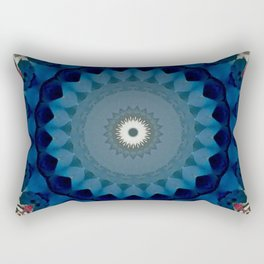 Basal Color Mandala 4 Rectangular Pillow
