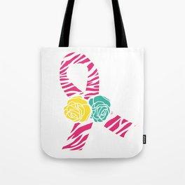Endometriosis Ribbon 4 Tote Bag