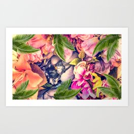 Flower dream Art Print