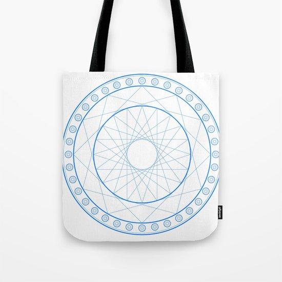 Anime Magic Circle 11 Tote Bag