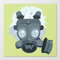 clear Canvas Prints featuring Clear. by Dani Does Art